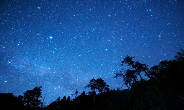 日本一の星空 浪合パークの星空1